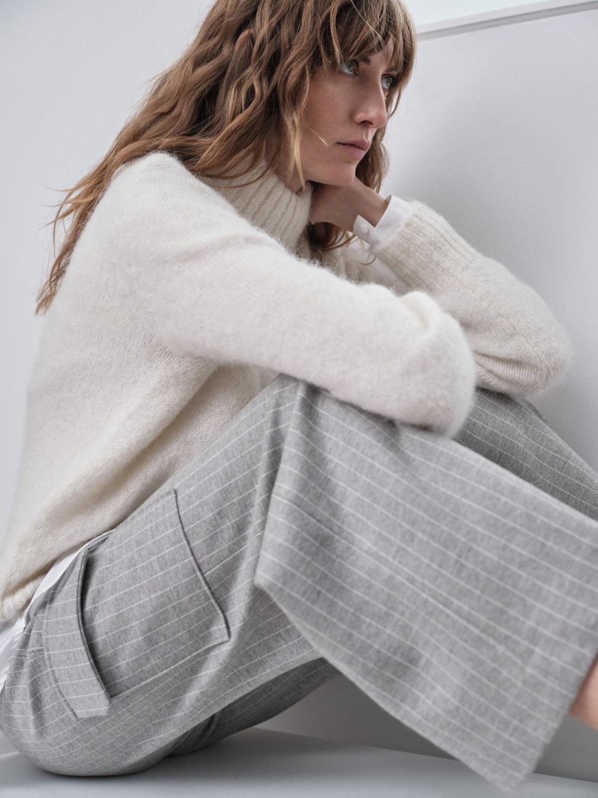 Pinstripe Culotte