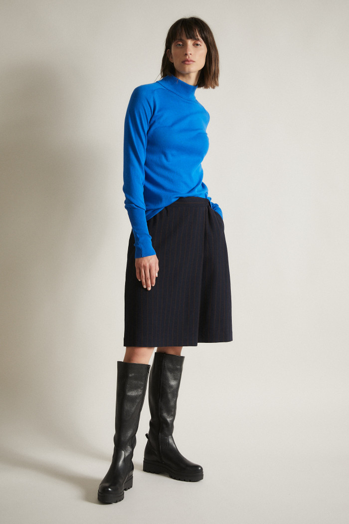 Pinstrip Skirt