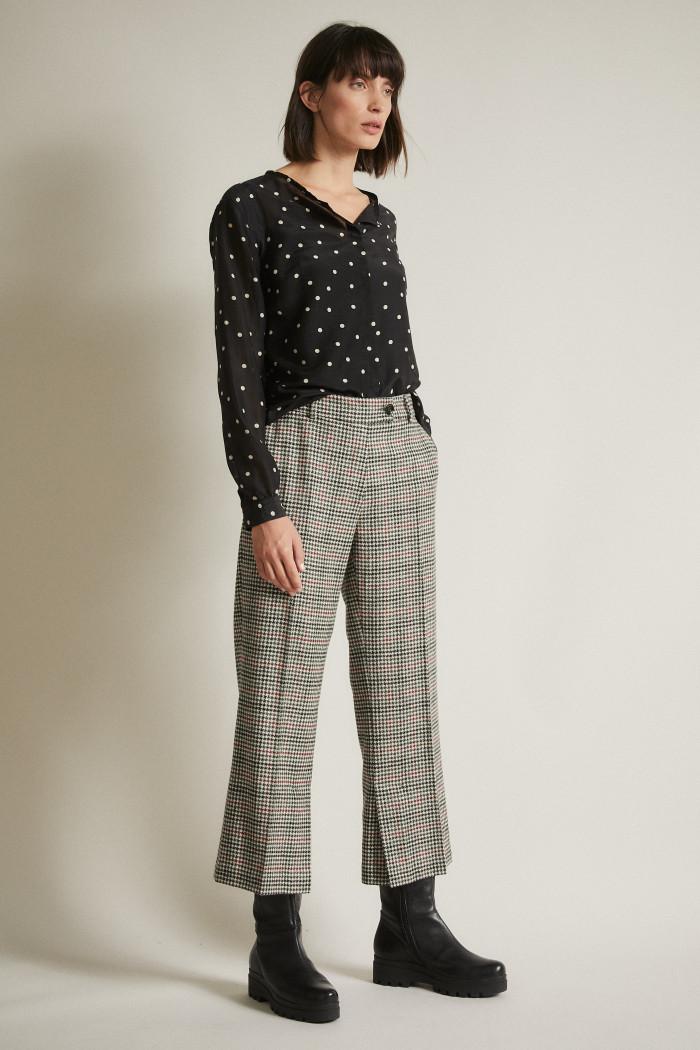 Glencheck-7/8-Pants
