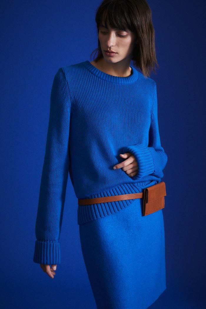 Boxy-Pullover GOTS