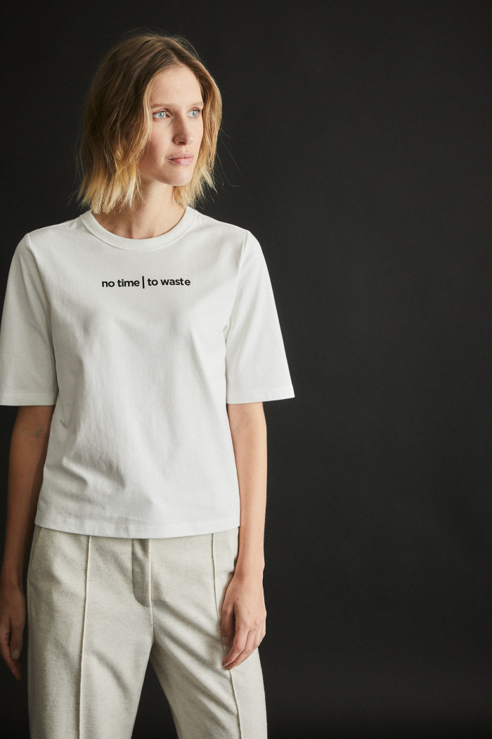 Shirt no time | to waste