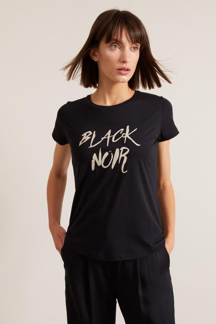 """CHARITYSHIRT """"Black Noir"""" aus Bio-Baumwolle GOTS"""