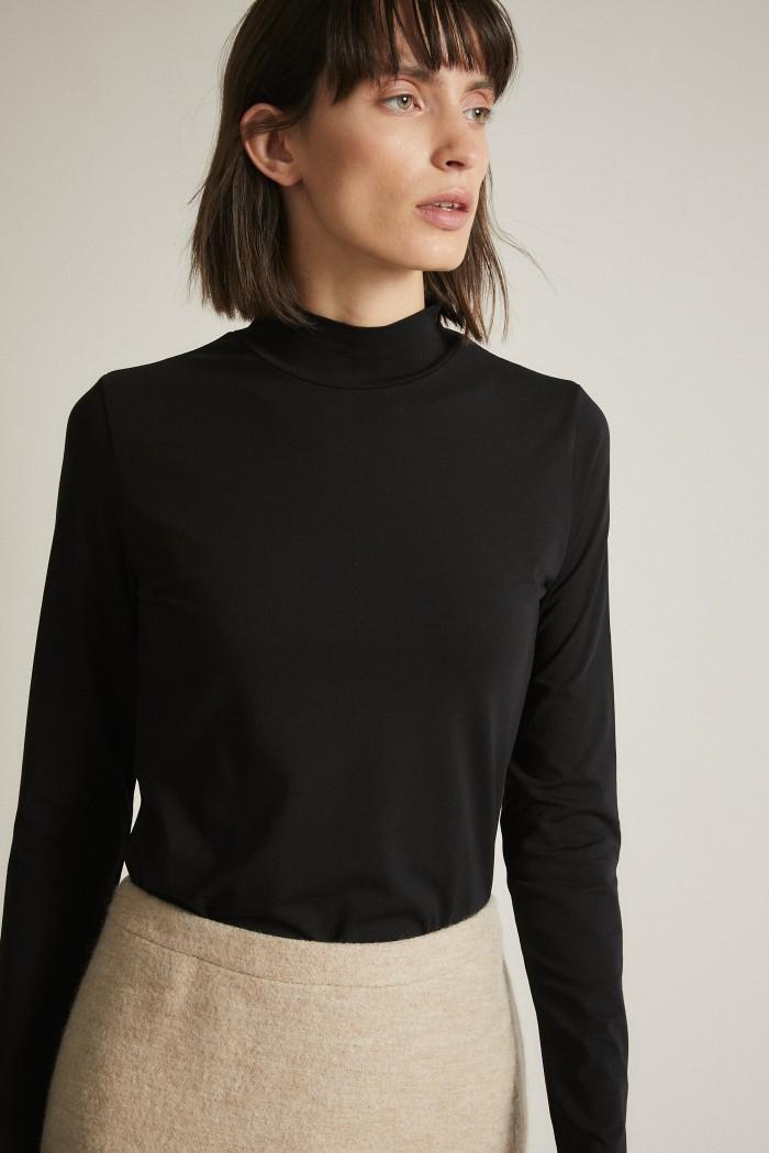 Stand-Up Collar Shirt GOTS