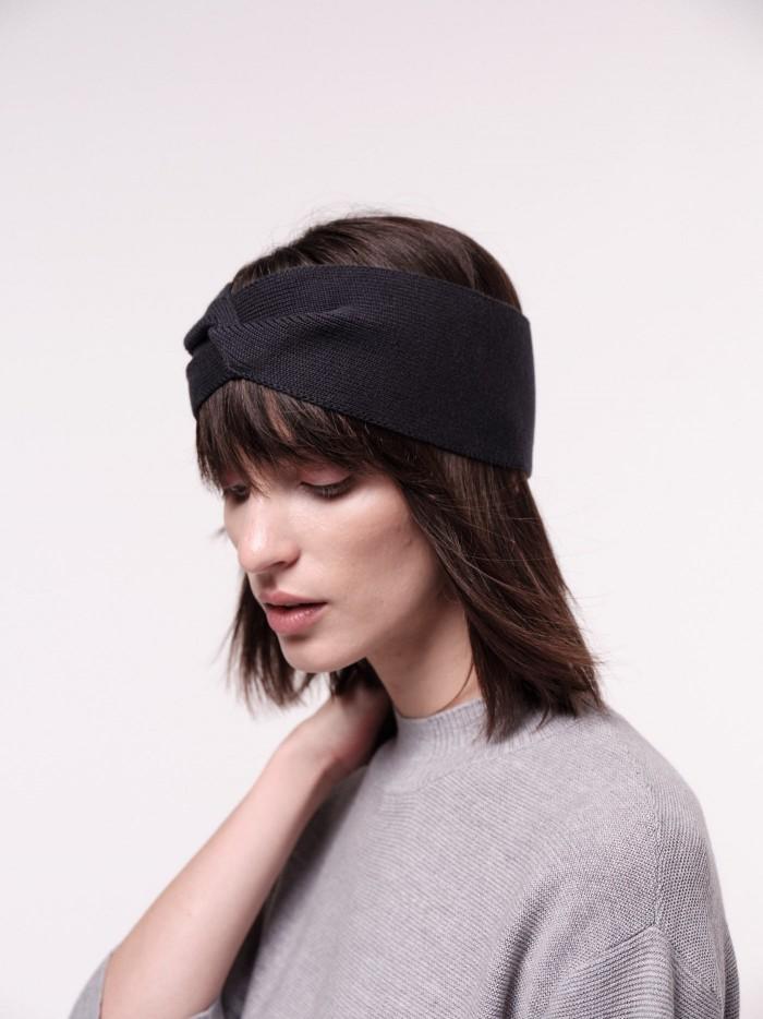 Veganes Stirnband aus Bio-Baumwolle