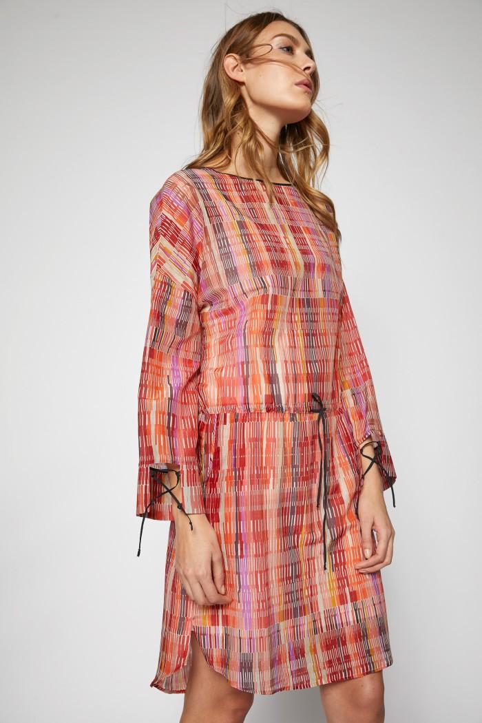 Print EthnoLanius Schickes Kleid Schickes Aus Kleid ZX8Nn0wOkP