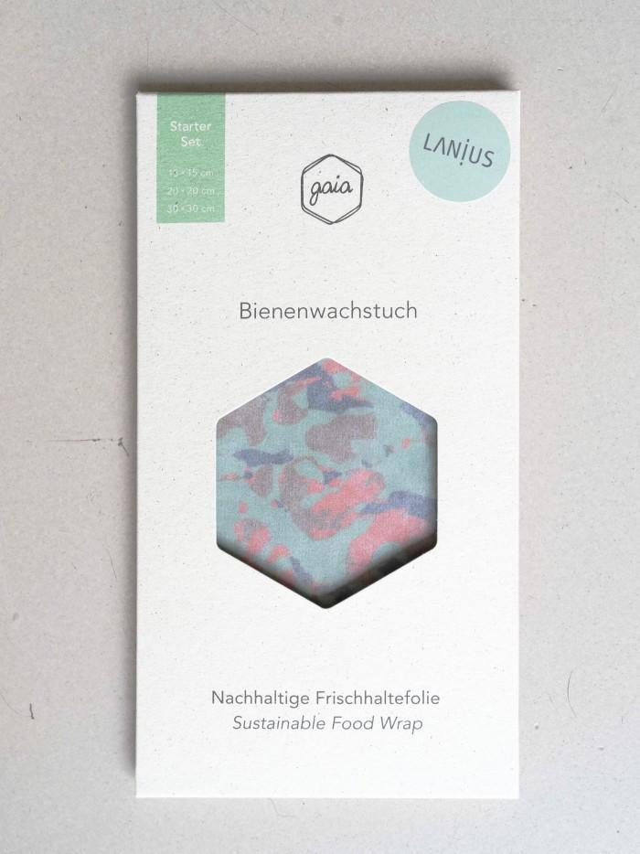 Bio Bienenwachstücher Starter Set (S/M/L)