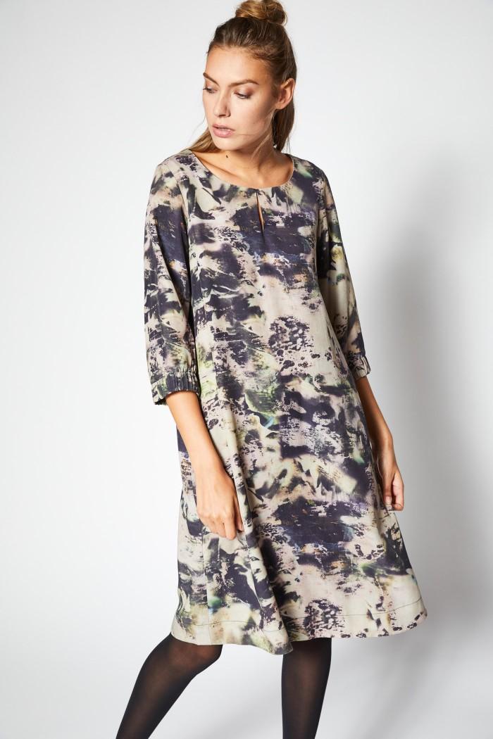 Lässiges Kleid aus Tencel®