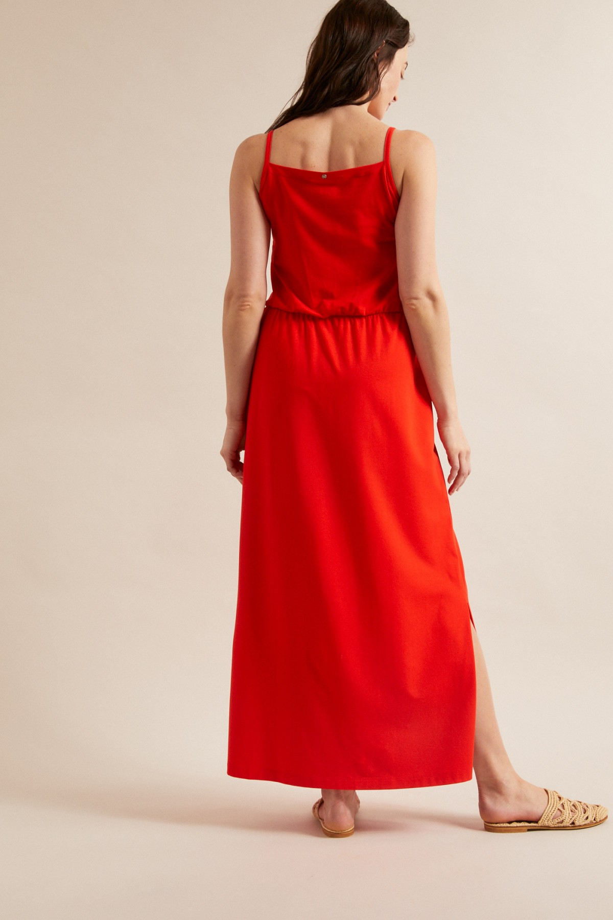 MAXI DRESS made of TENCEL™ Modal with organic cotton