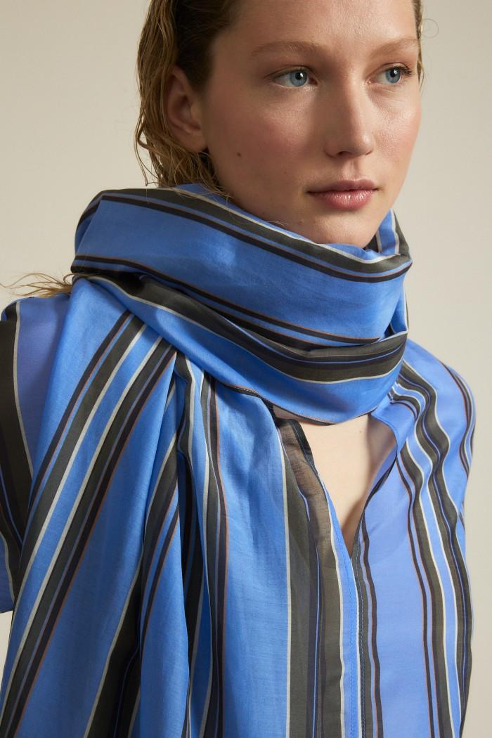 Schal Print Stripe
