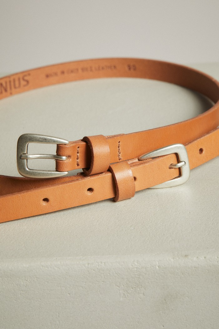 Belt with Double Clasp