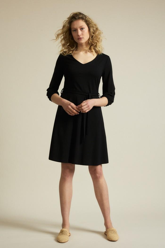 Dress with waist