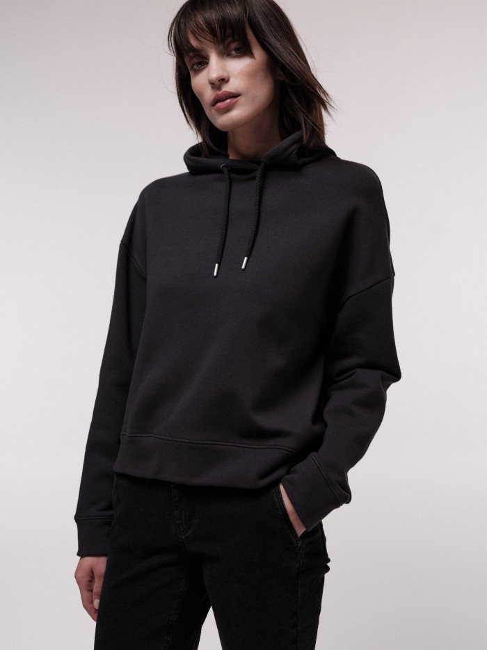 Kapuzensweatshirt aus Bio-Baumwolle