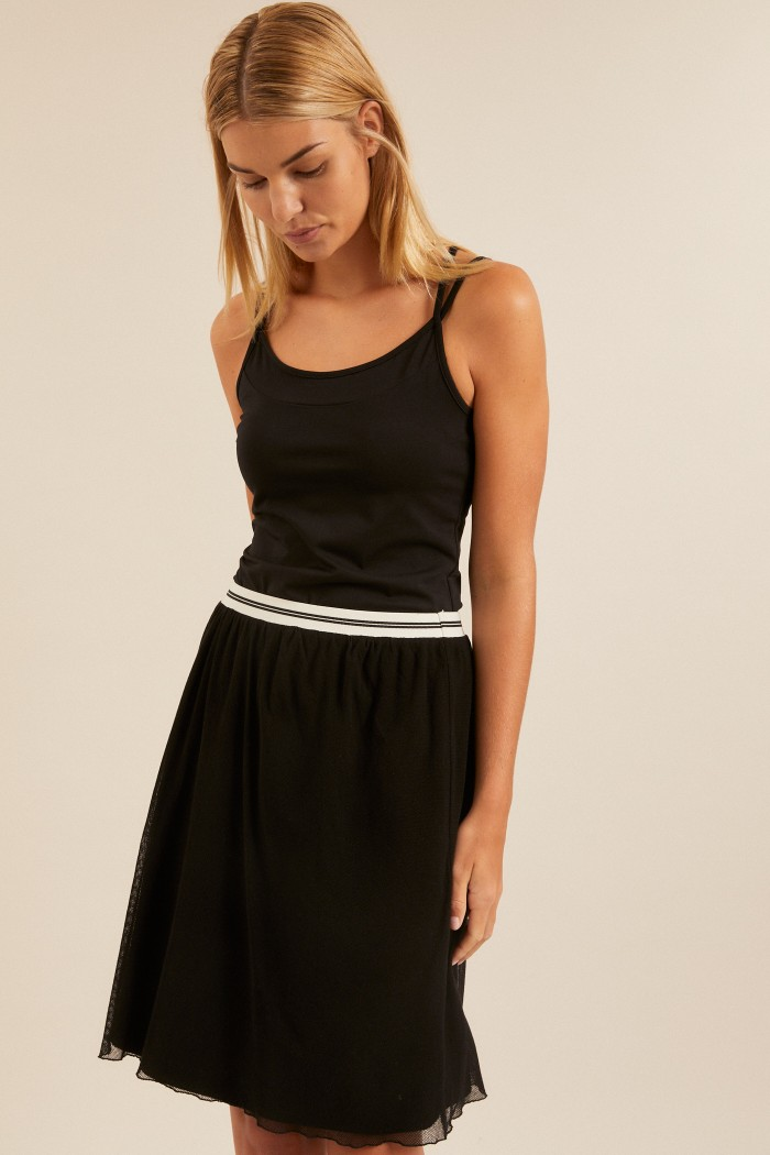 TULLE SKIRT made of organic cotton GOTS