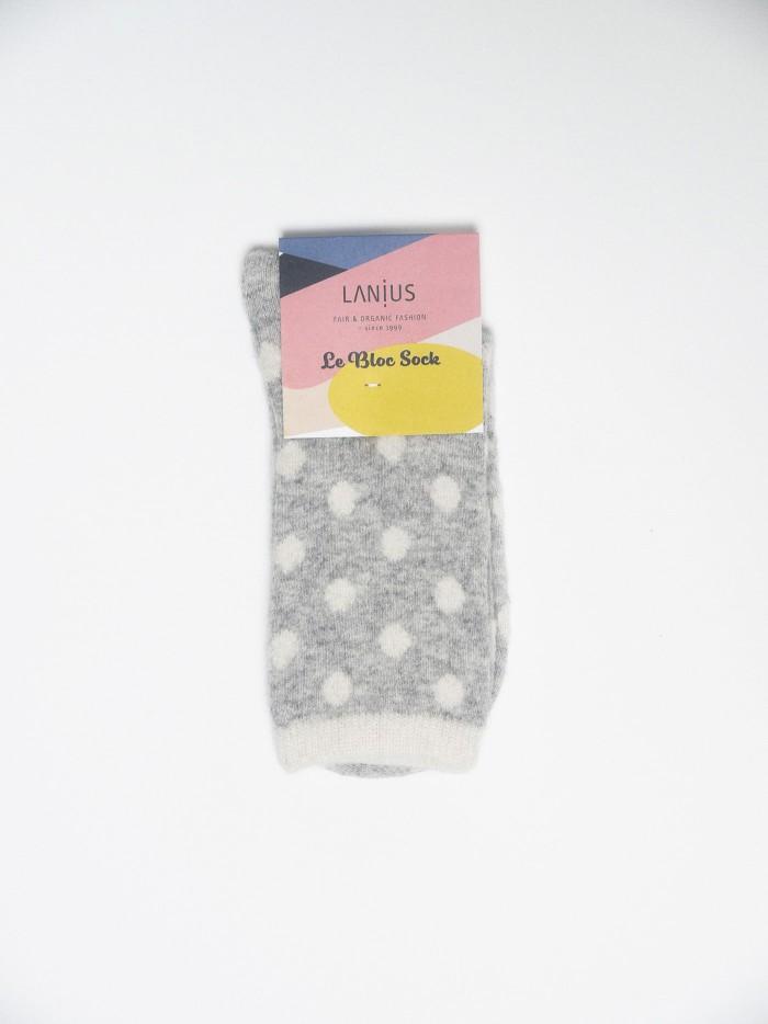Socken mit Punkten