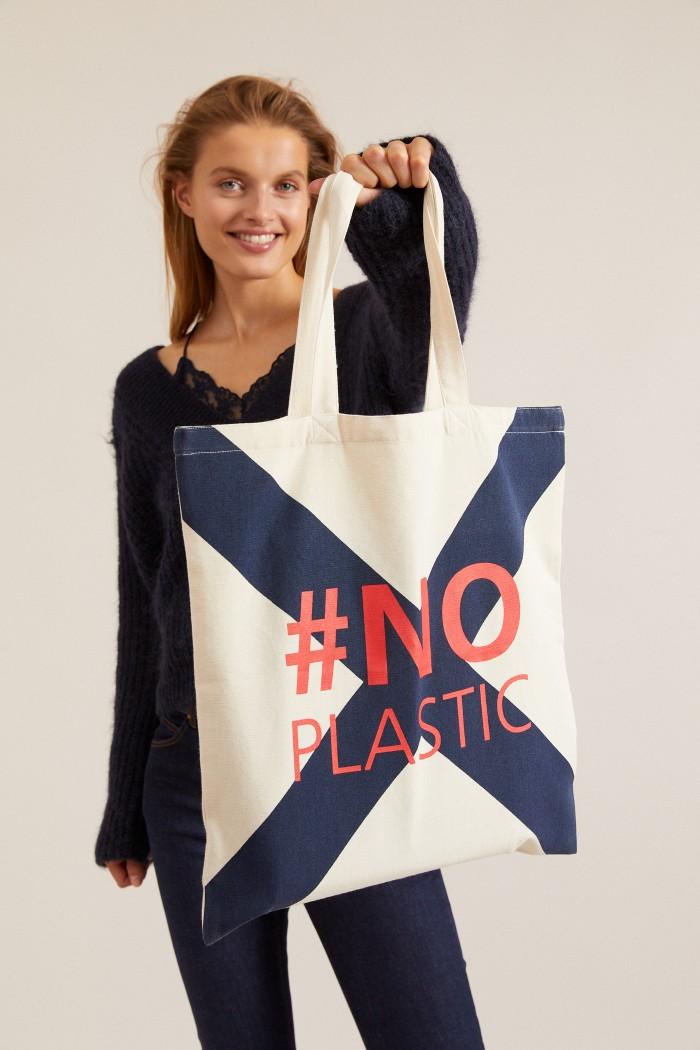 JUTEBEUTEL #noplastic GOTS