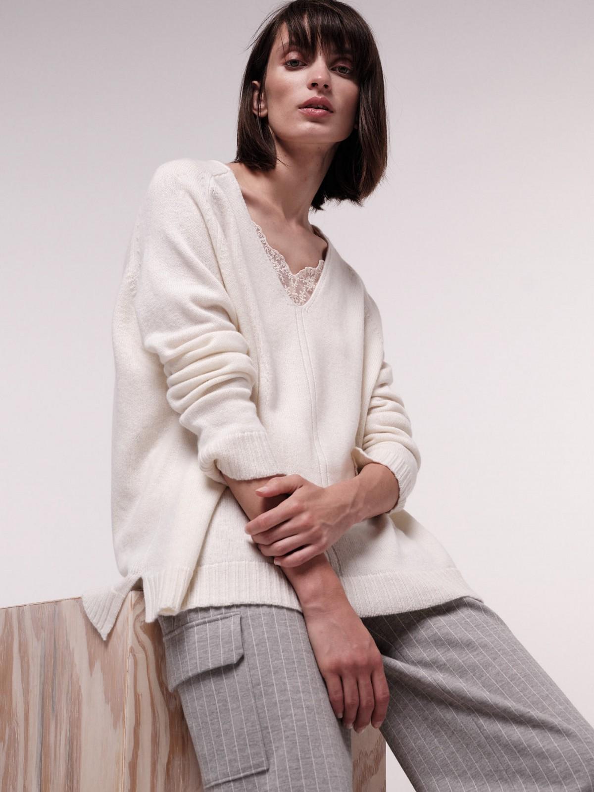 Organic Merino Wool Oversize Sweater