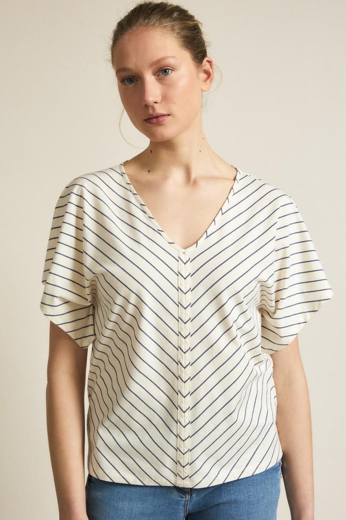 Striped shirt GOTS