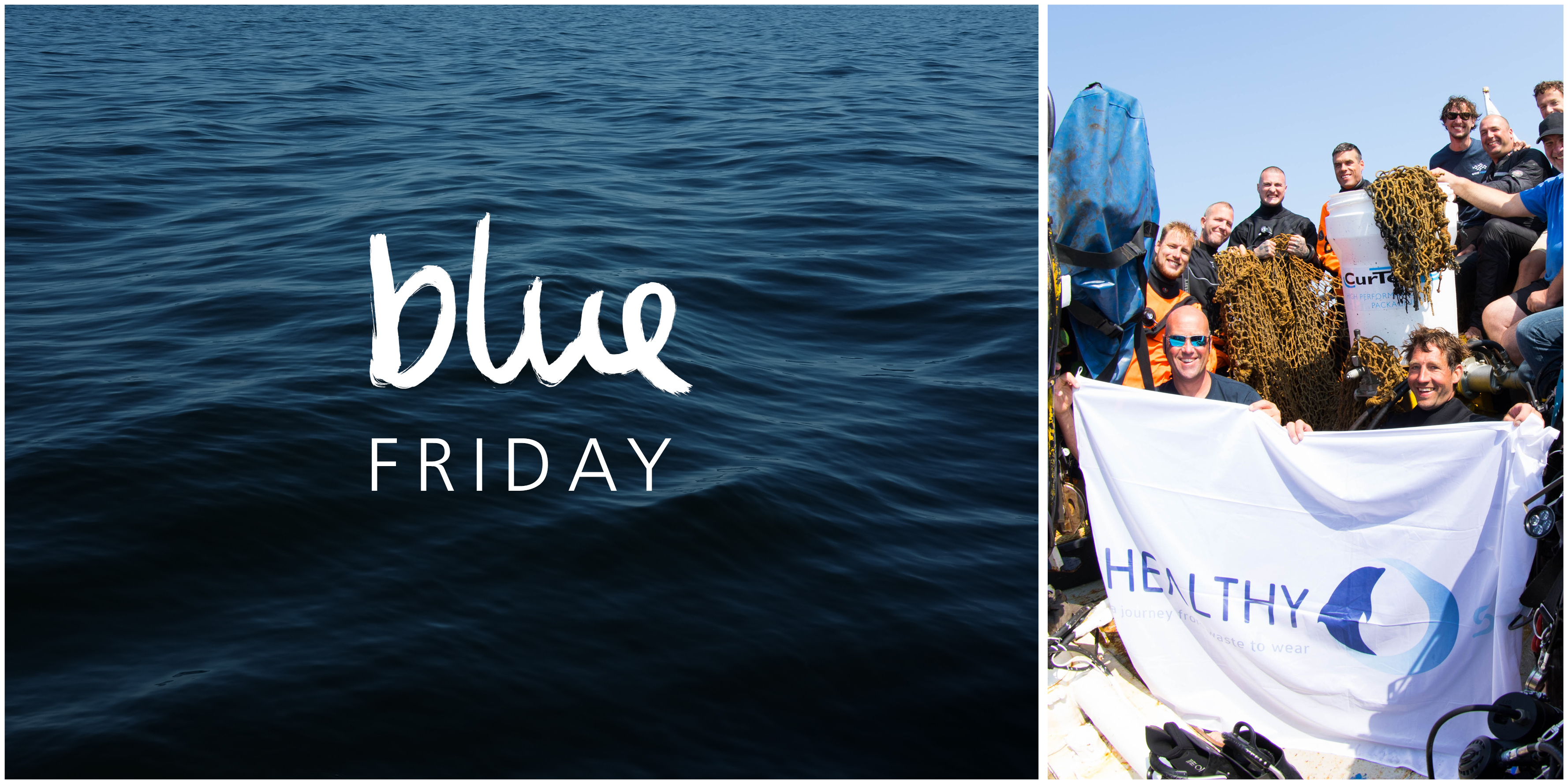Blue Friday statt Black Friday!
