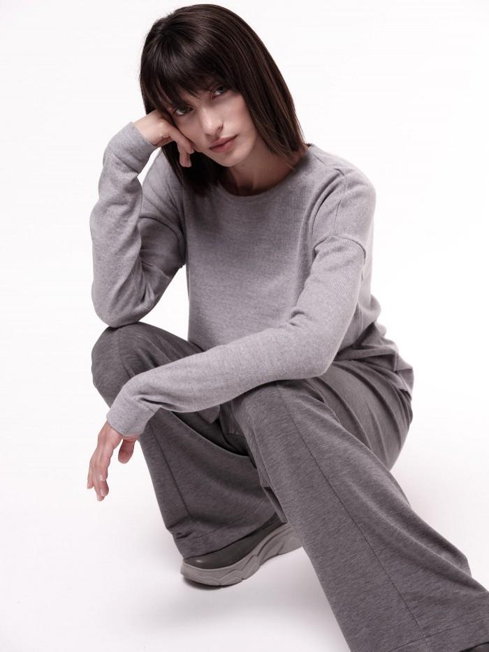 Pullover aus Bio-Merinowolle