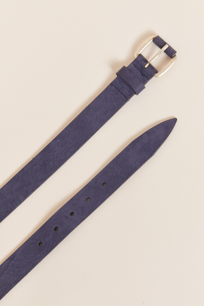JEANS BELT made of leather