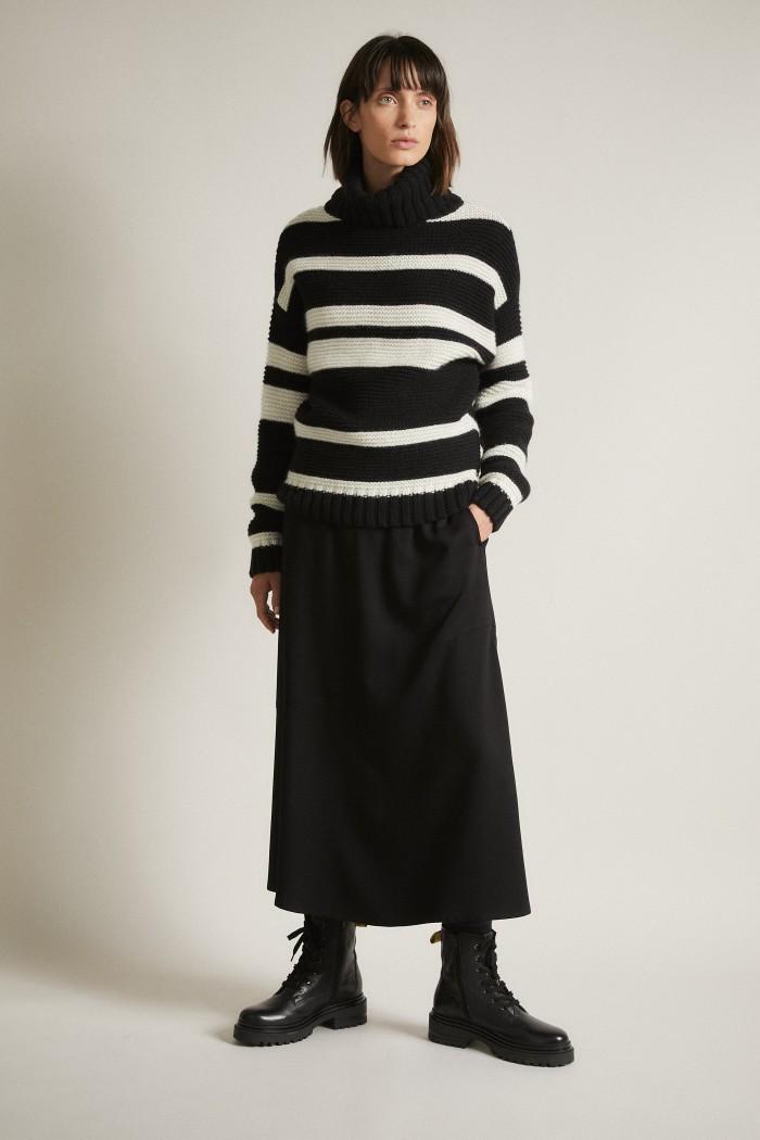 Coarsley Knit Pullover GOTS