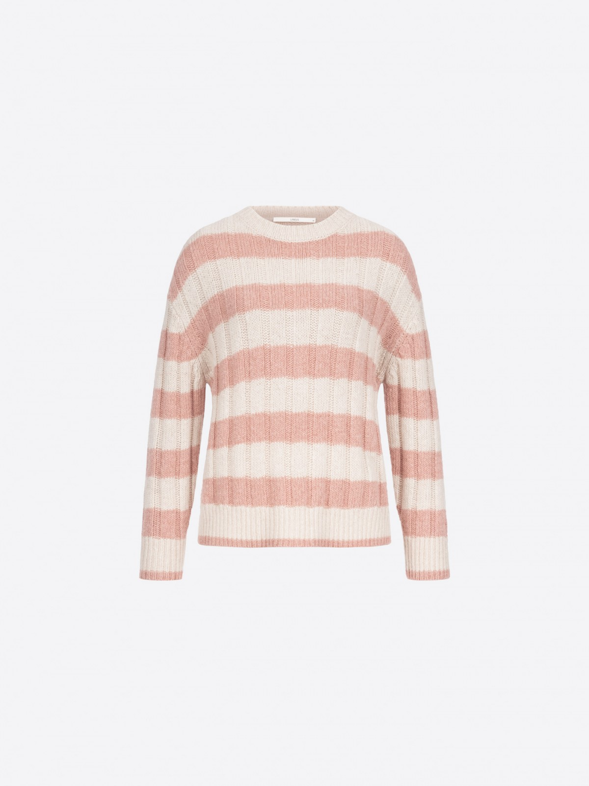 Sweater with block stripes