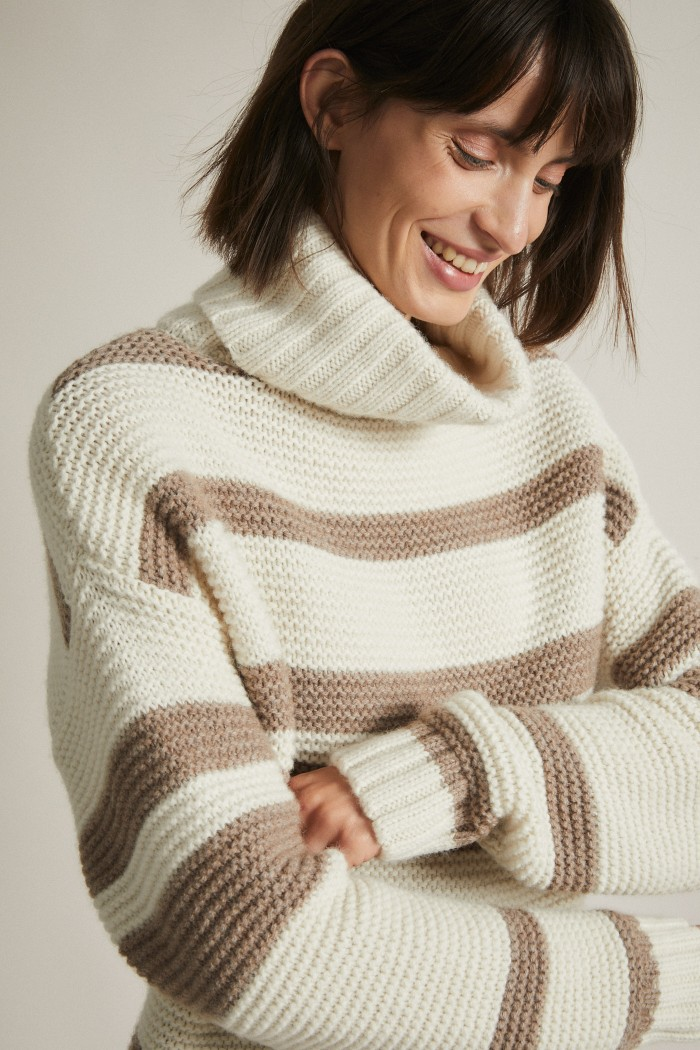 Coarsley Knit Pullover GOTS