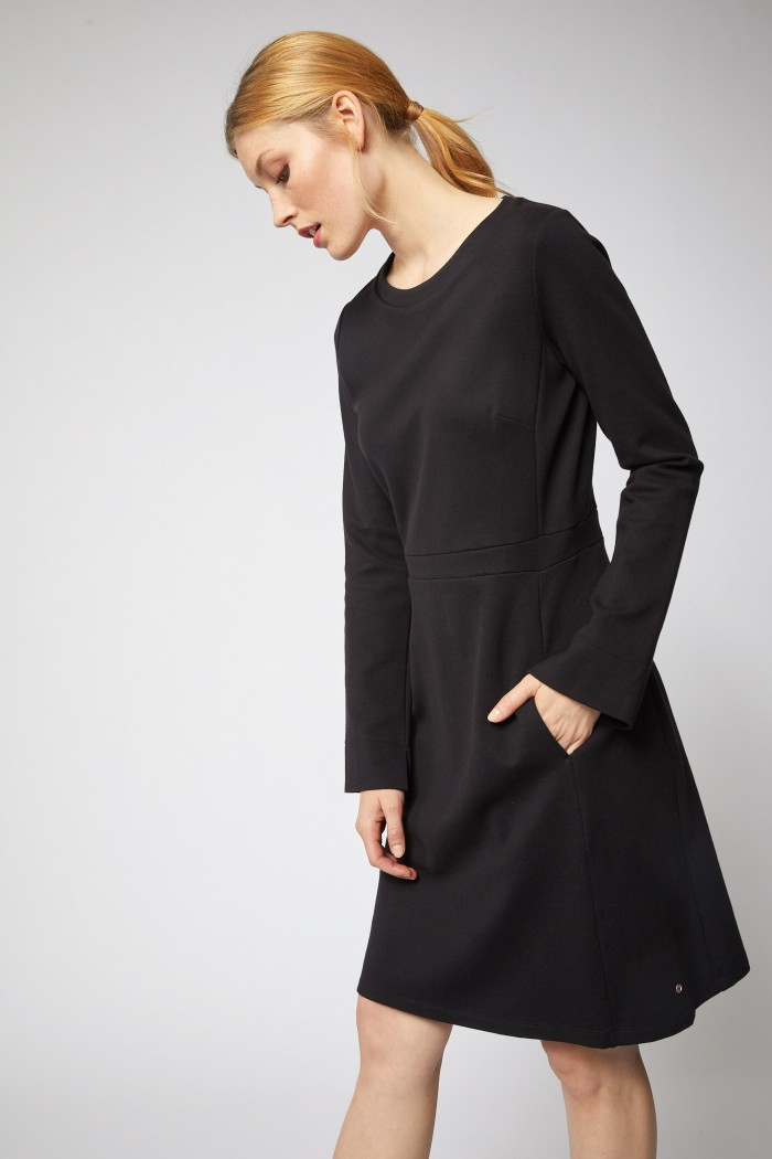 Etui kleid baumwolle